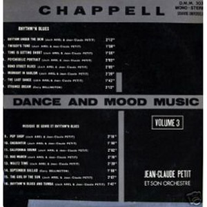 Jean-Claude Petit Et Son Orchestra「Psychedelic Portrait」(from  「Dance And Mood Music Vol.3」Album)